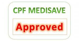 CPF MediSave approved sign